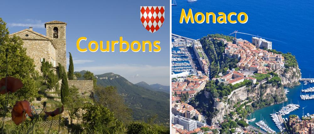 Courbons et Monaco
