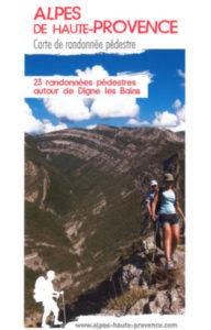 carte randonnée Digne les Bains