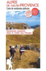 Carte randonnée Massif des monges