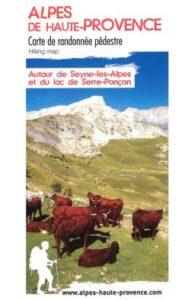 Cartes randonnées Seyne les Alpes