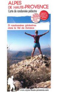 Carte randonné Val de Durance