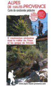 carte randonnée Vallée de l'Asse