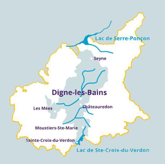 Les destinations aux alentours site officiel de l 39 office - Office du tourisme de digne les bains ...