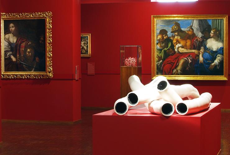 Quelques oeuvres exposées dans les salles du Musée Gassendi
