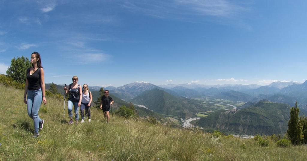 Randonnée sur les hauteurs de Digne les Bains