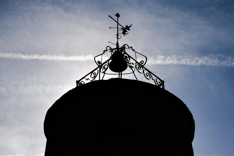 Tour de l'horloge d'Estoublon