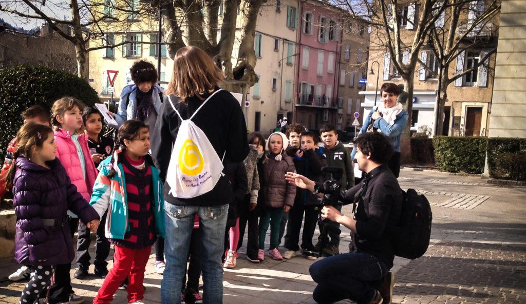 Les enfants visitent Digne les Bains