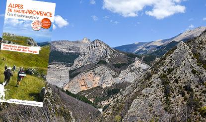 Carte de randonnée Massif des Monges