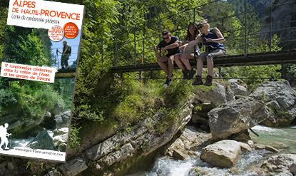 Carte de randonnée Vallée de l'Asse
