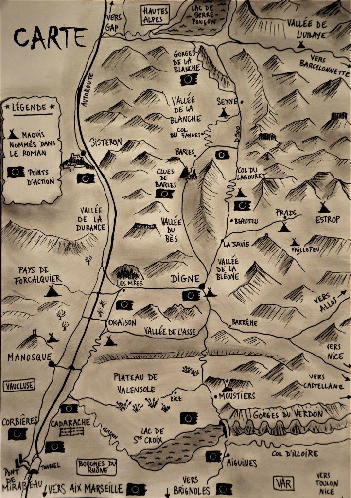 Carte du roman Carpe Noctem