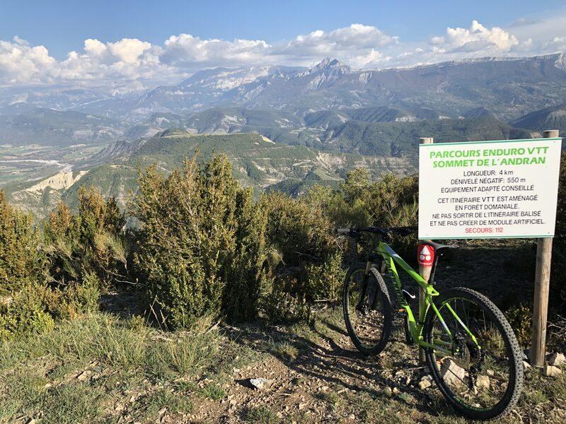 Enduro du Sommet de l'Andran N°18 Digne-les-Bains