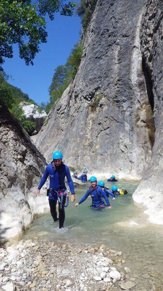 Cool Canyoning Verdon
