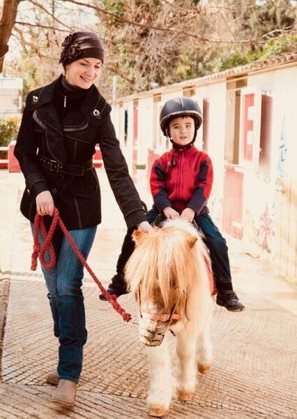 Photo promenade poney