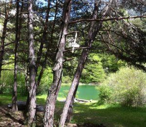 Le lac des Eaux Chaudes N°14 Prads-Haute-Bléone