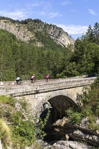 3 jours velo route Haute Provence