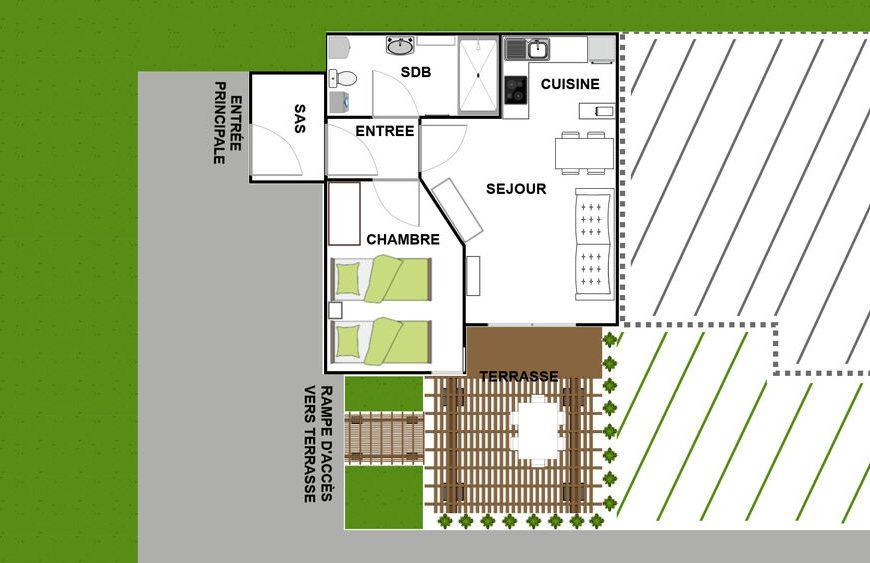 Appartement 12 vallon des sources