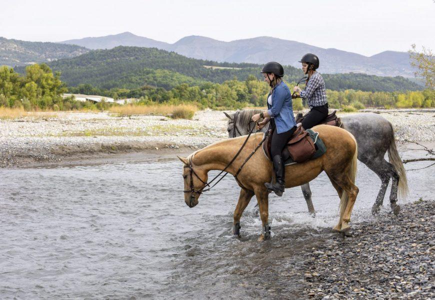 séjour à cheval Digne-Sisteron Route Napoléon