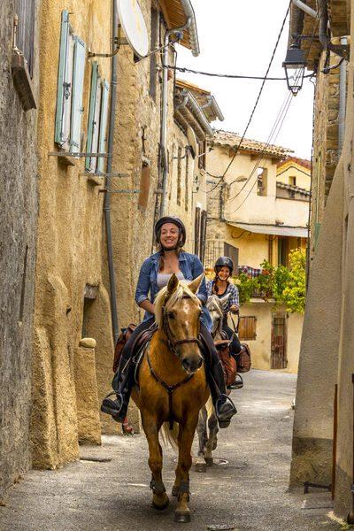 route napoléon à cheval