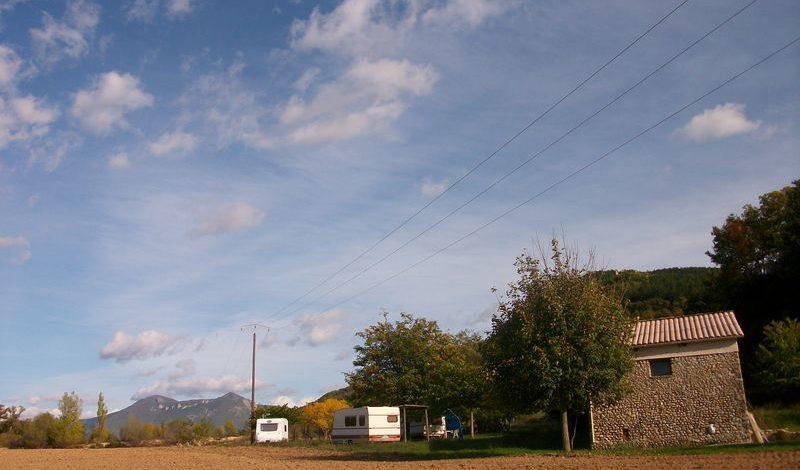 Camping à la ferme La Marine Le Chaffaut