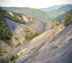 Les Terres noires dans l'UNESCO Géoparc de Haute Provence