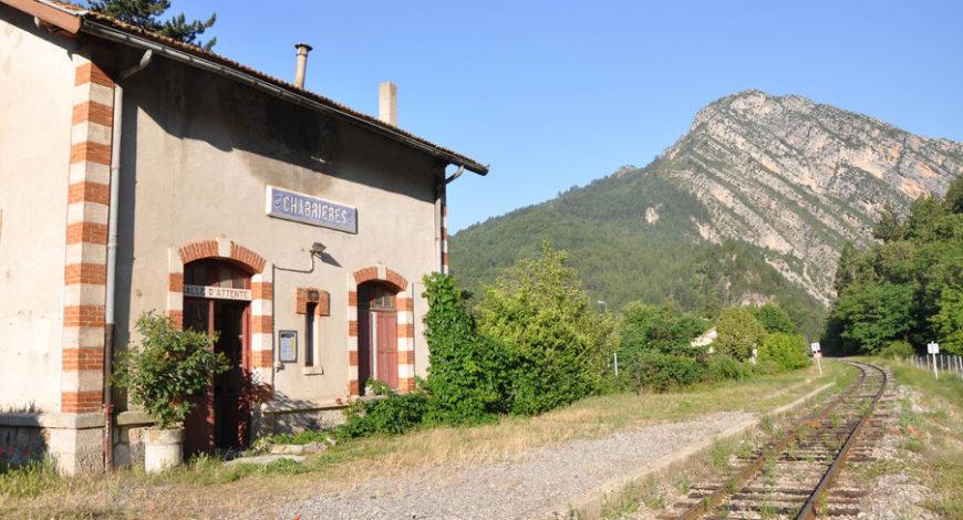 Gare de Chabrières – Train des Pignes