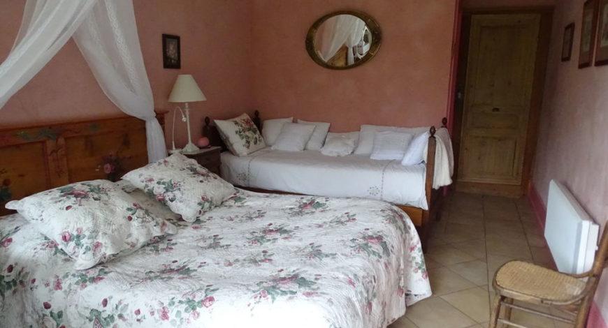 Chambre d'hôte Les Roses – La Bannette