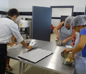 Cours de pâtisserie