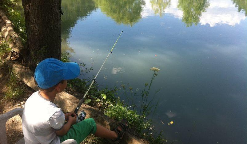 Pêche à la ferme