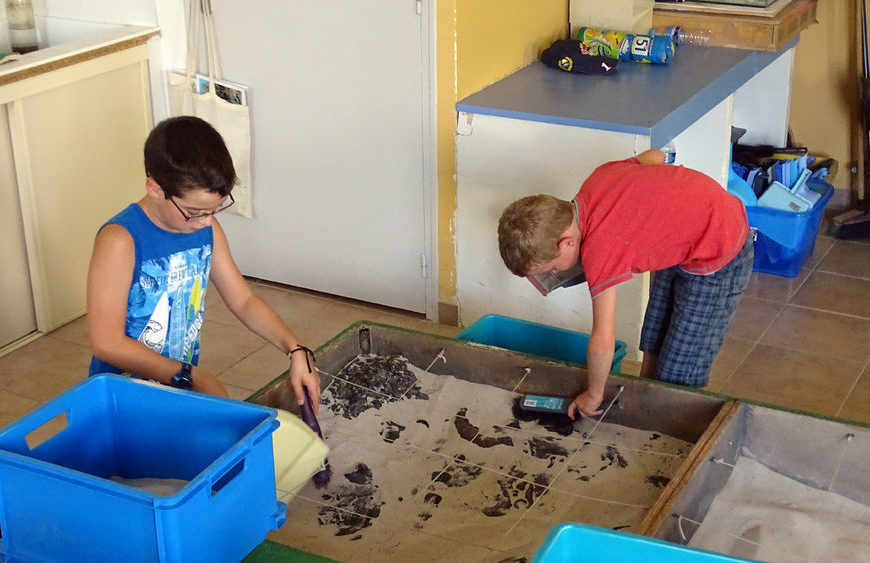 Ateliers fouilles