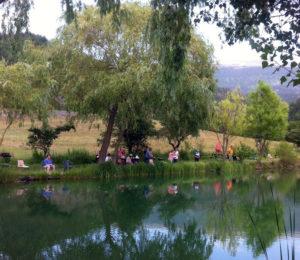Lac de pêche à la ferme – Digne les Bains