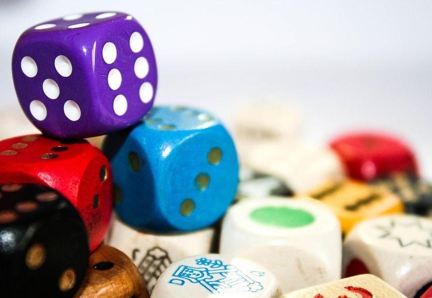 jeux de dés regroupés