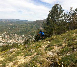 Chemins de Caramantran et des Oreilles d'ânes N°10 Digne-les-Bains