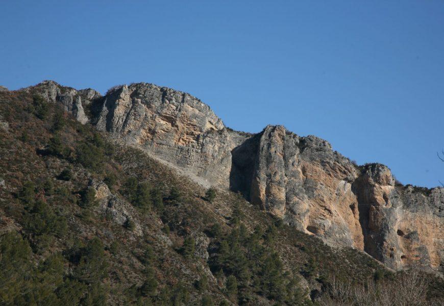 Le rocher de Neuf heures N°2 Digne-les-Bains