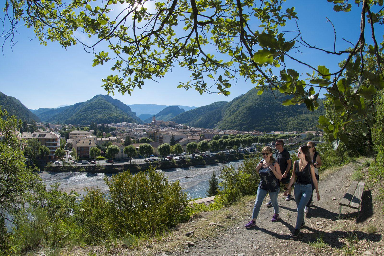 Sentier de Caguernard N°4 Digne-les-Bains