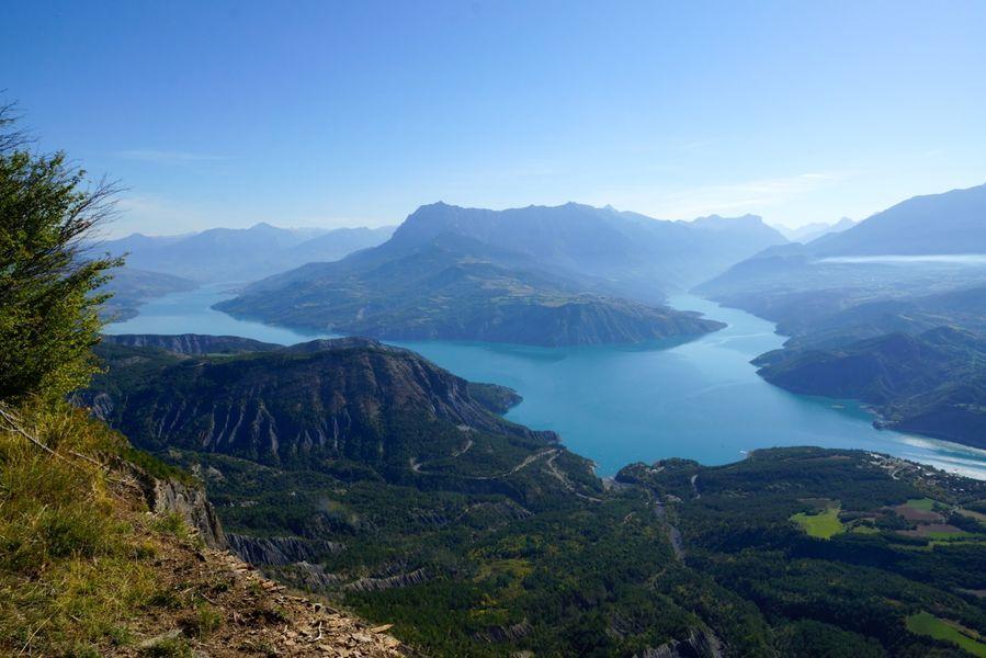 Vue lac de Serre Ponçon