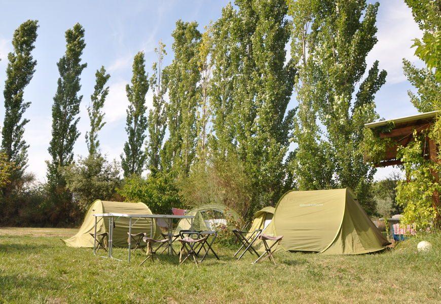 Camping à la ferme Terres du Vanson