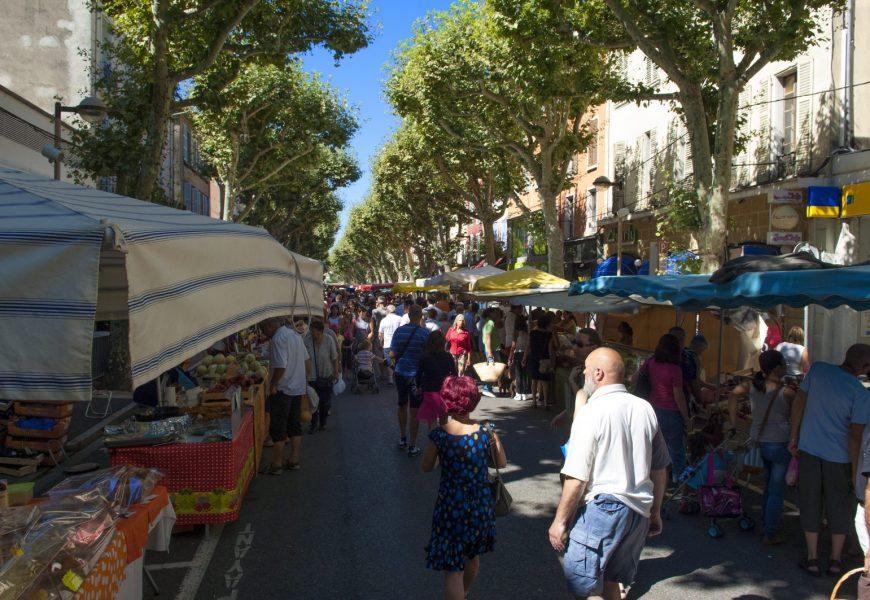 Marché provençal Digne