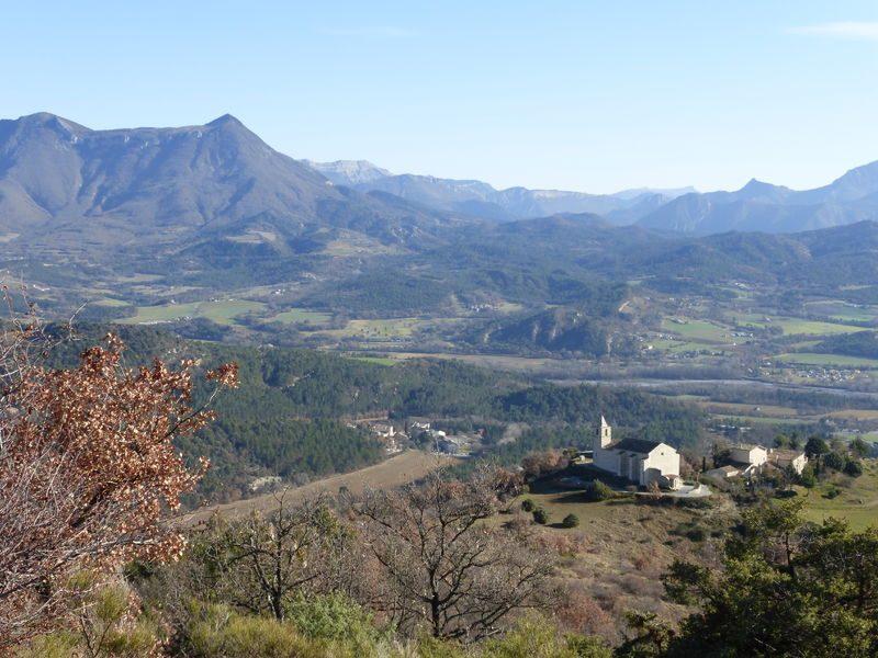 Vue panoramique Aiglun