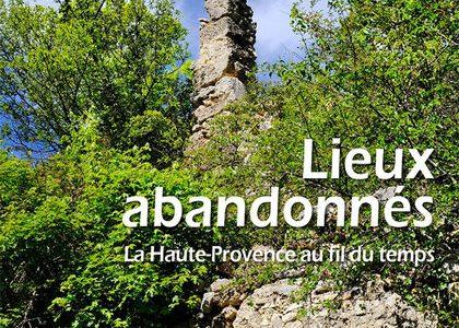 Affiche expo lieux abandonnés