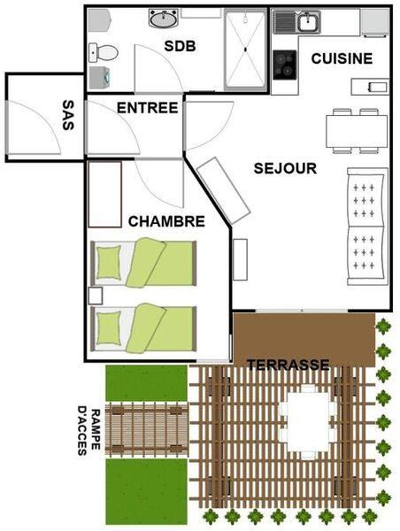 Appartement N°12 Vallon des sources