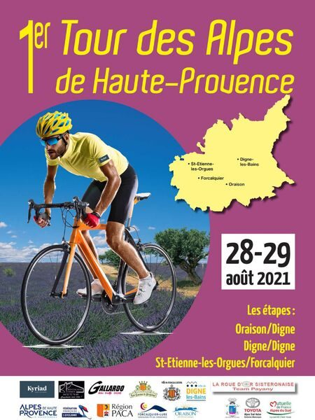 Affiche Tour des Alpes